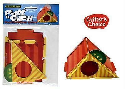 Critters Choice Small Animal Play n Chew Playground Slide Hamsters, Gerbils