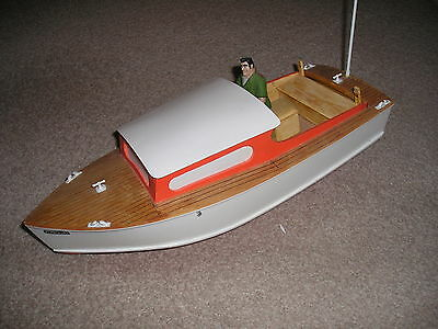 Sea Urchin Vintage R/c Model Boat Plan + Templates + Instructions