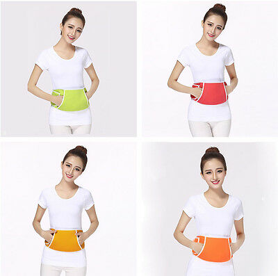 Usb Electric Heat Body Waist Wrap Belt Pad Pain Relieve Power Portable For Gift
