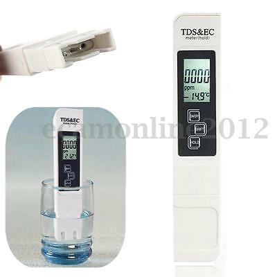 3 In 1 LCD Digital TDS EC PPM Water Quality Purity Meter Tester Pen Stick W/ Bag