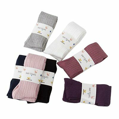 Baby Toddler Infant Kids Girl Knitted Warm Pantyhose Socks Stockings Tights 0-8Y