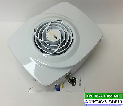 Envirovent Efht2S Filter-Less Extractor Fan With Pullcord 240 Volt