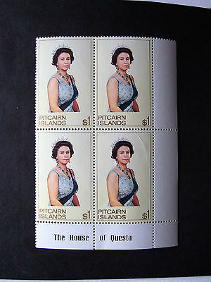 PITCAIRN Is SG 106b in MNH BLOCK OF 4 CV £22 in 2015 SOW
