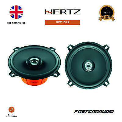 "Hertz Dieci DCX130.3 5.25"" 80 Watt 2 way Coaxial Speaker"