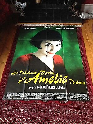Audrey Tautou Original large French Movie Poster Amelie