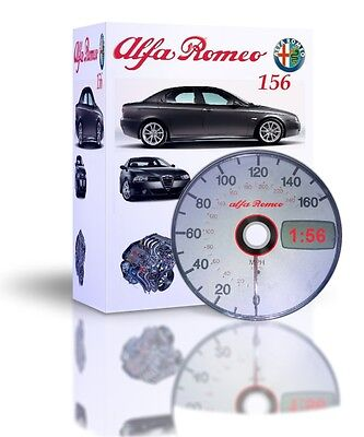 Alfa Romeo 156 Complete Updated Workshop And Service Manual Plus Videos DVD