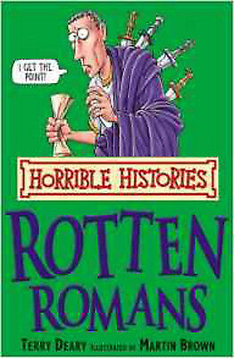 The Rotten Romans (Horrible Histories), New, Deary, Terry Book