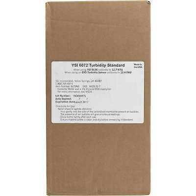 YSI 12.4 FNU Turbidity Calibration Standard