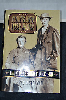 Western Book Frank And Jesse James (The Story Behing The Legend)