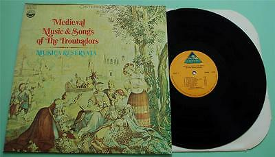 Medieval Music & Songs Of The Troubadors Musica Reservata - Everest 3270