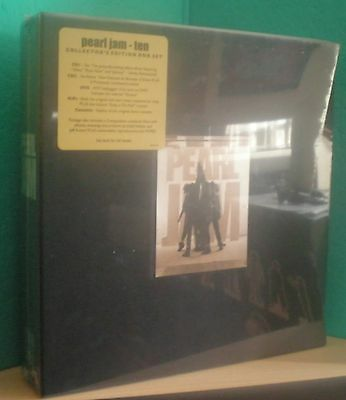 "PEARL JAM - ""TEN"" Collector's Edition Box Set - SEALED !!!"