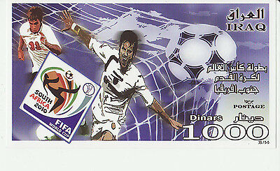 Iraq 2010 MNH - Soccer World Cup 2010 - miniature sheet