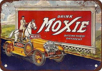 1933 Drink Moxie Vintage Look Reproduction Metal Sign