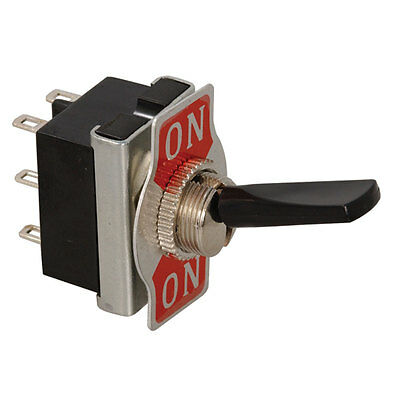 Toggle Switch (On-On) Double Pole Double Throw Lever Solder 10a 250 Volt  3 pcs