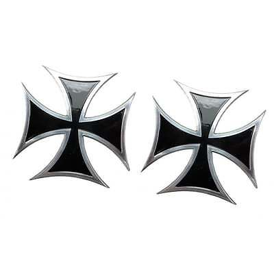 Maltese Cross - Black - Billet