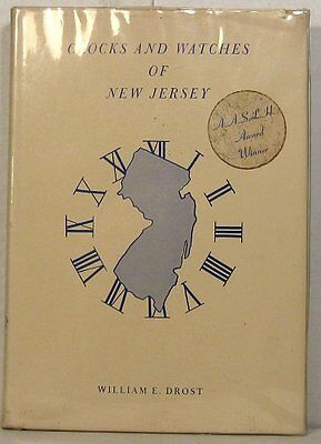 William Drost, Clocks and Watches of New Jersey, 1966, signed