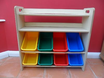 GLTC Great Little Trading Childrens Book & Toy Storage Unit Shelves