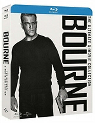 Bourne - The Ultimate Collection - 5 Film (5 Blu-Ray Disc - SteelBook)