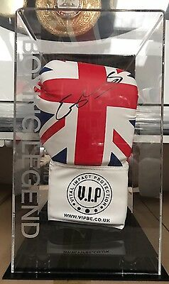 EXCLUSIVE Kell Brook Signed Boxing Glove Display Case World Champion COA