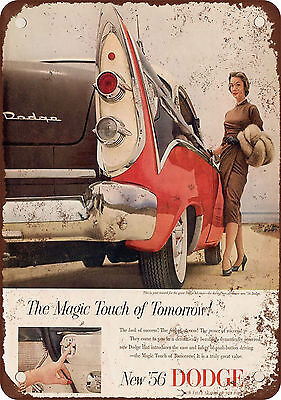 1956 Dodge Vintage Look Reproduction Metal Sign