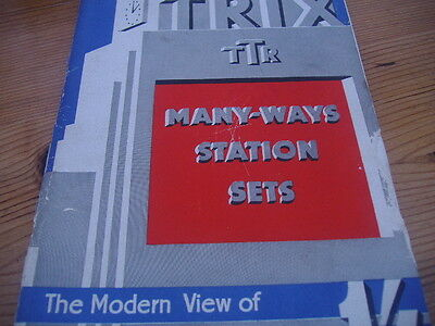Trix Many Ways Station Set Book Of Building Model Stations