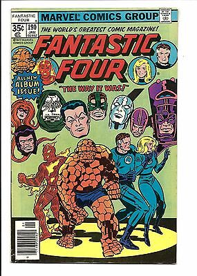 Fantastic Four # 190 (Jan 1978), Fn