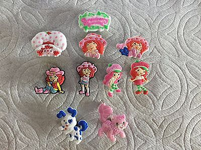 Strawberry Shortcake Shoe Charms Cowgirl Custard Pupcake Shoe Charms Fits Crocs
