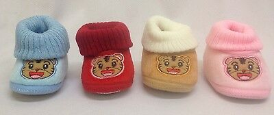 Job Lot Fluffy Soft Baby Bootie with Grip Wholesale Bulk Clearance SALE New