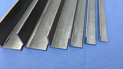 Mild Steel Angle Iron 20x20x3 to 50x50x5, 200mm -1500mm