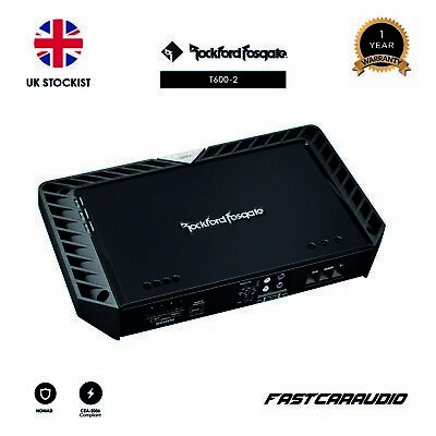 Rockford Fosgate Power T600-2 600 Watt 2-Channel Amplifier