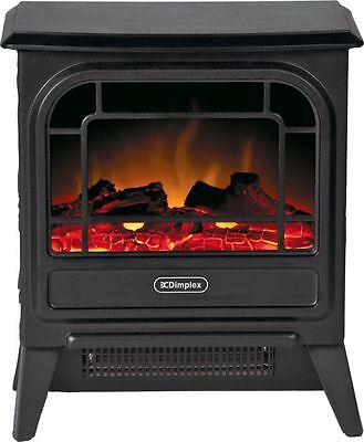 Dimplex Cast Iron Effect Micro Stove Electric Fire -From Argos ebay