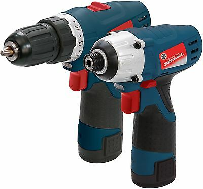 Silverstorm 10.8V Drill Driver and Impact Driver Twin Pack -From Argos on ebay