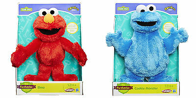 "NEW Sesame Street Furchester Hotel 11"" Plush Toys *Elmo *Cookie Monster *Both!"
