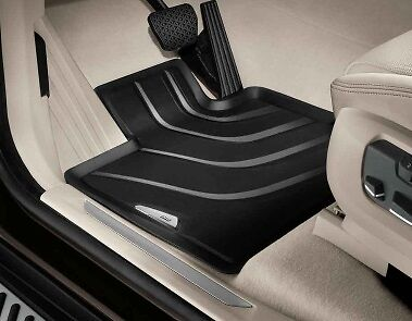 BMW Genuine All Weather Rubber Floor Mats Set Front F25/F26 51472286002