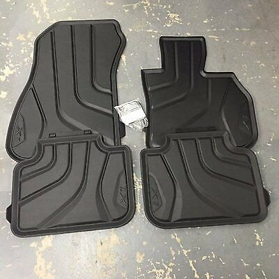 BMW Genuine All-Weather Rubber Front and Rear Car Floor Mats F48 51472406753