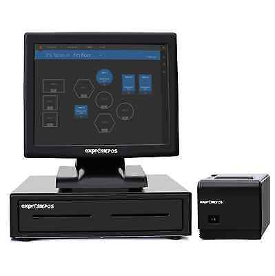 """BRAND NEW 15"""" All in One Touchscreen EPOS POS System for Takeaway Businesses"""