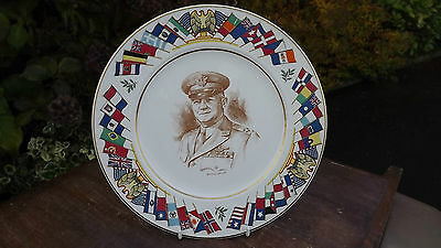 General Arnold  World War 2 Plate USA Allied Nations Commemorative Series