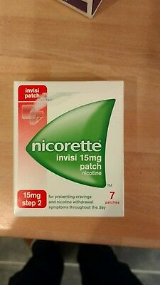 nicorette invisi 15mg patch 21 patches