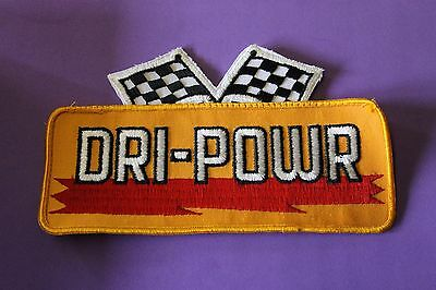 Vintage NOS Dri Powr Hat Jacket Vest Embroidered Sew On Gas Oil Patch