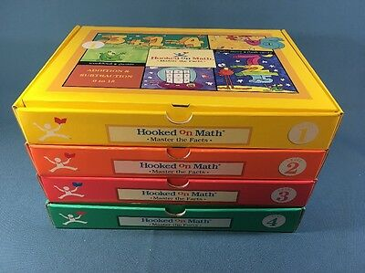 Hooked On Math Master the Facts Curriculum Set Level 1-4