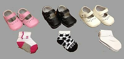 Job Lot Soft Baby Bootie with Sock Grip Wholesale Bulk Clearance SALE New Joblot