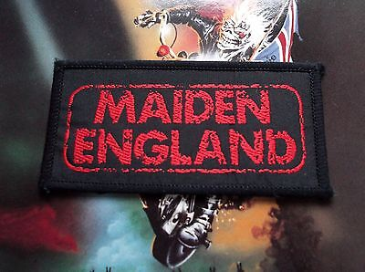 """Iron Maiden Infinite Dreams EMI 7"""" EX With Patch b/w Killers LIVE"""