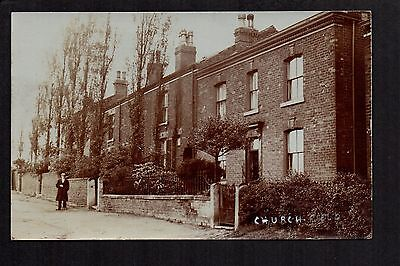 Churchfield - real photographic postcard