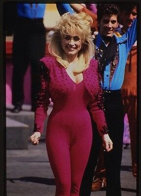 DOLLY PARTON 35mm Photo Transparency 1992 CH-3