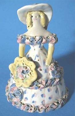 Overbeck Pottery Southern Belle Lady Figurine