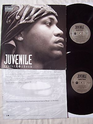Juvenile - Reality Check With Inssert~ 18 Track Double Album ~ Excellent