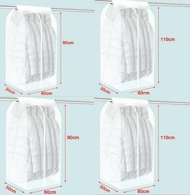 Garment Storage Bag - Protective Cover Guards Against Dust, Moths and Mildew New