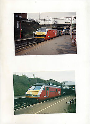 COVENTRY.VIRGIN TRAINS 82127 19/1/98 & 82126 8/11/992 10 x 15cms PHOTOGRAPHS
