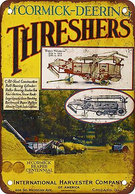 McCormick-Deering Threshers Vintage Look Reproduction Metal Sign