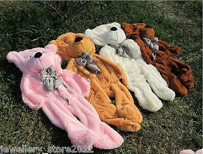 63'' 7 colors Giant Plush Teddy Bear Huge Soft Toys cover semi-finished SAVE USD